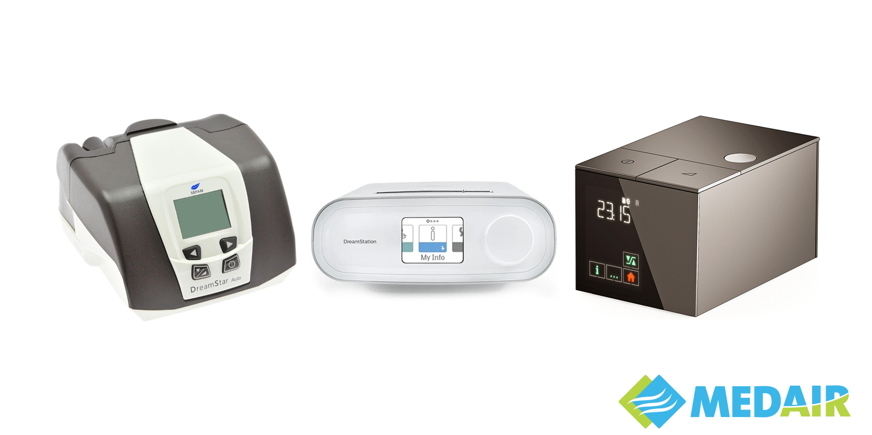 Dispozitiv CPAP Sefam DreamStar Auto / Philips Respironics DreamStation Auto / Sefam S. Box by Starck