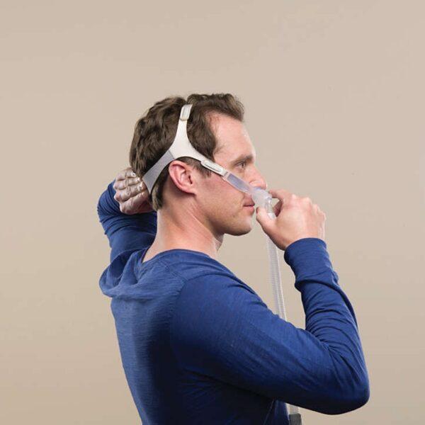 Masca CPAP Nazala Philips Respironics Nuance Gel PRO cu 3 pernute incluse