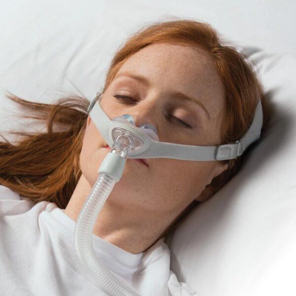 Masca CPAP Nazala Philips Respironics Nuance Gel cu 3 pernute incluse