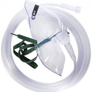Masca de Oxigen pentru Adulti Salter Labs 8110-7, 2.1m, Transparenta